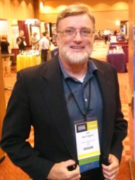 Joe presenting at 2015 PLRB conf